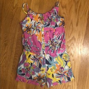 Lilly Pulitzer romper size large (8-10)